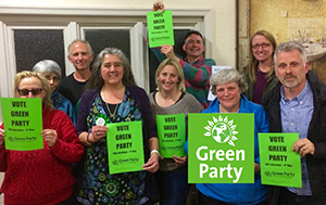 Local Green Party members