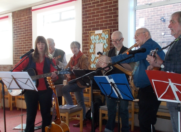 Seaward Band played a toe tapping set for us