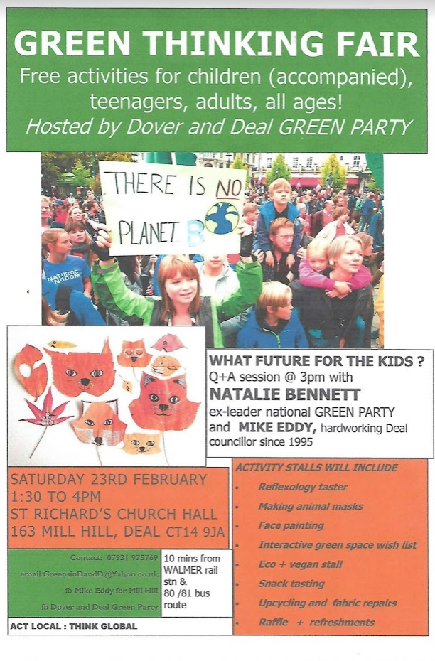Poster encouraging local families to come along to our fun afternoon in Mill Hill