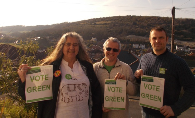3 of 4 green party candidates dover tc cropped